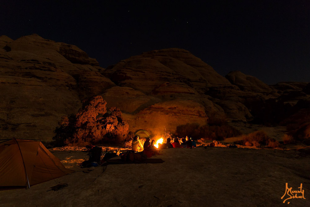 Night in Wadi Rum
